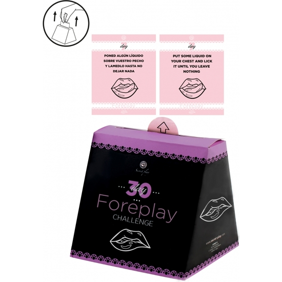 JUEGO 30 DAY FOREPLAY CHALLENGE (ES/EN)